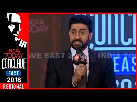 Abhishek Bachchan Recollects His First Rendezvous With Satyajit Ray | IT Conclave East 2018