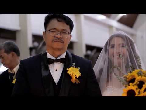 A beautiful Christian Wedding: The bridal march that made the groom cry