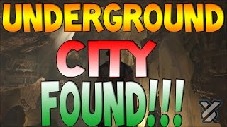 Ark Survival Evolved   UNDERGROUND CITY FOUND   Scorched Earth Map Gameplay