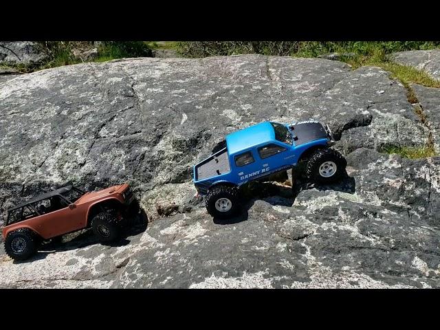 4ws Wraith / Scx10 2 1 9 Wraith with Toyzuki v2 Tacoma Rock