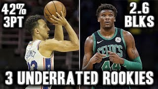 The 3 Most Underrated Rookies This NBA Season