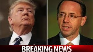 TRUMP'S LAWYERS ARE DONE PLAYING NICE! JUST ISSUED THIS DEMAND TO ROSENSTEIN!