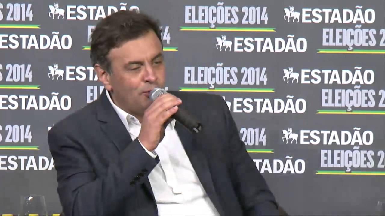 Eleições 2014: entrevista com Aécio Neves - online