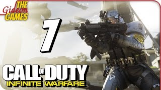 Прохождение Call of Duty: Infinite Warfare #7 ➤ В ОКЕ БУРИ