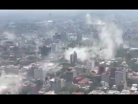 *BIG QUAKE* Rocks Mexico  mexico city