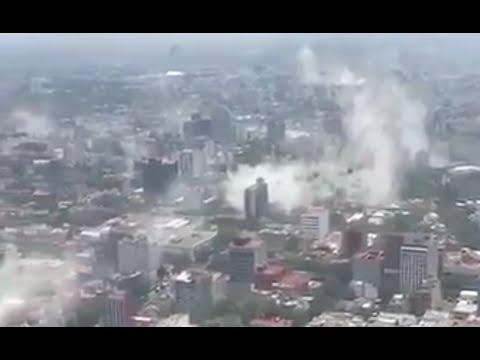 *BIG QUAKE* Rocks Mexico  mexico city
