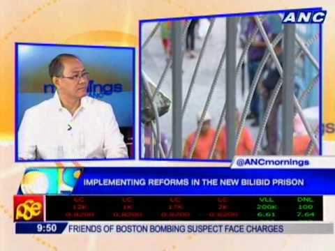Implementing reforms in the New Bilibid Prison