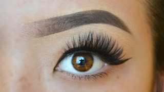 the perfect gradient brows i drugstore products