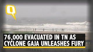 Cyclone Gaja Hit Tamil Nadu Coast, at Least 2 Dead
