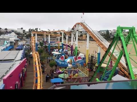 iPhone 8 Plus Take (4K 60fps): A Ride On The Pacific Wheel At Santa Monica Pier