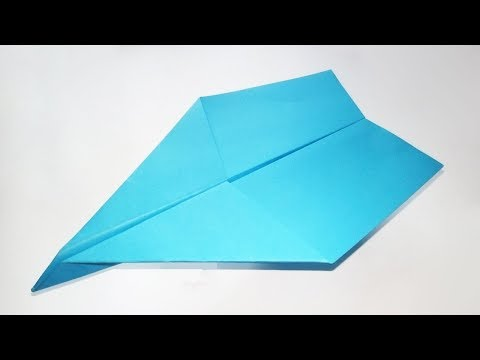 How To Make A Fast Paper Airplane - Best Paper Airplanes That Fly Far