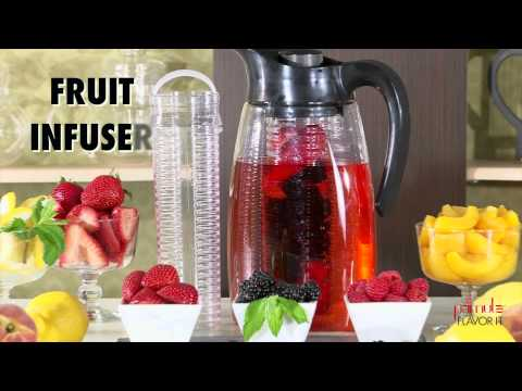 Primula Flavor It Infusion Pitcher- 3-in-1 Beverage System; Brew It; Flavor It; Chill It