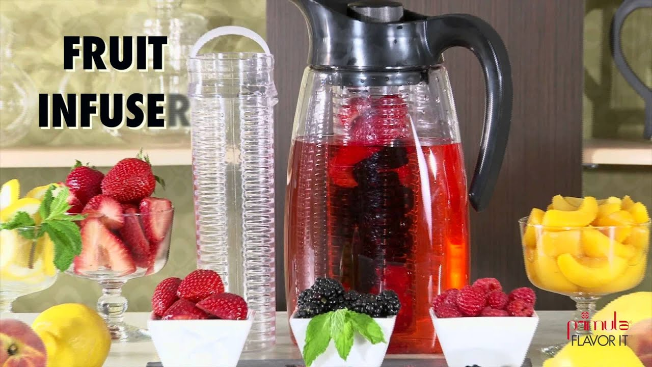 Primula Flavor Infusion Pitcher- 3-in-1 Beverage System