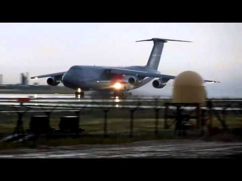 C5 Galaxy Horror takeoff