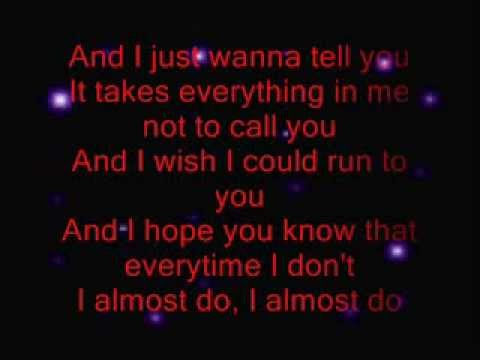 Taylor Swift I Almost Do Lyrics