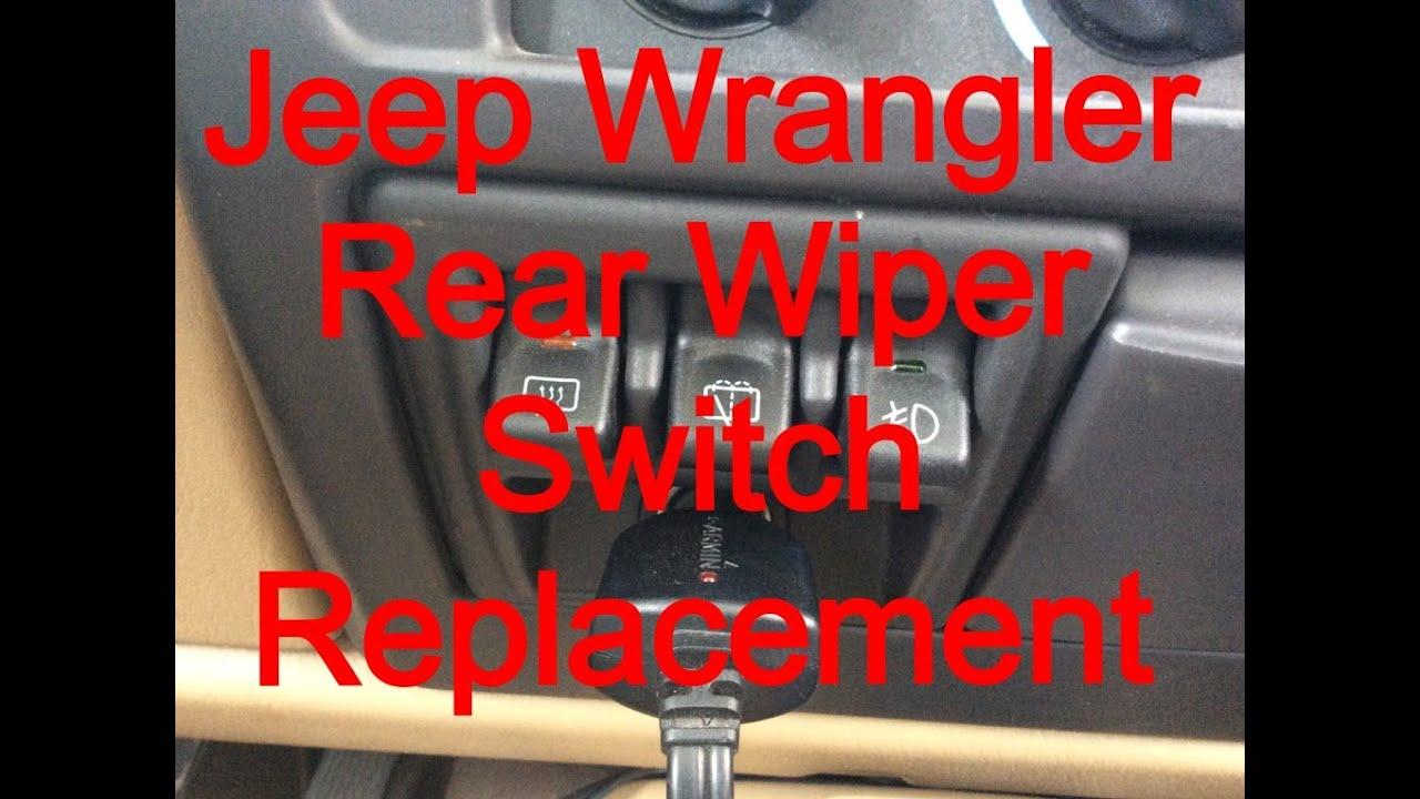 maxresdefault windshield wiper switch replacement 1999 jeep wrangler sahara at cita asia [ 1280 x 720 Pixel ]