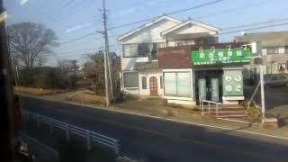 JR東日本209系MT68 側面展望 八街→佐倉(総武本線普通) マリC418編成