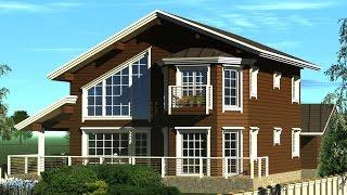 Эксклюзивный проект деревянного дома(http://www.dom-nv.ru/ +79110081772 +79119238252 проекты , сметы, строительство сказочно красивые дома, фотографии красивых..., 2015-12-21T18:58:35.000Z)