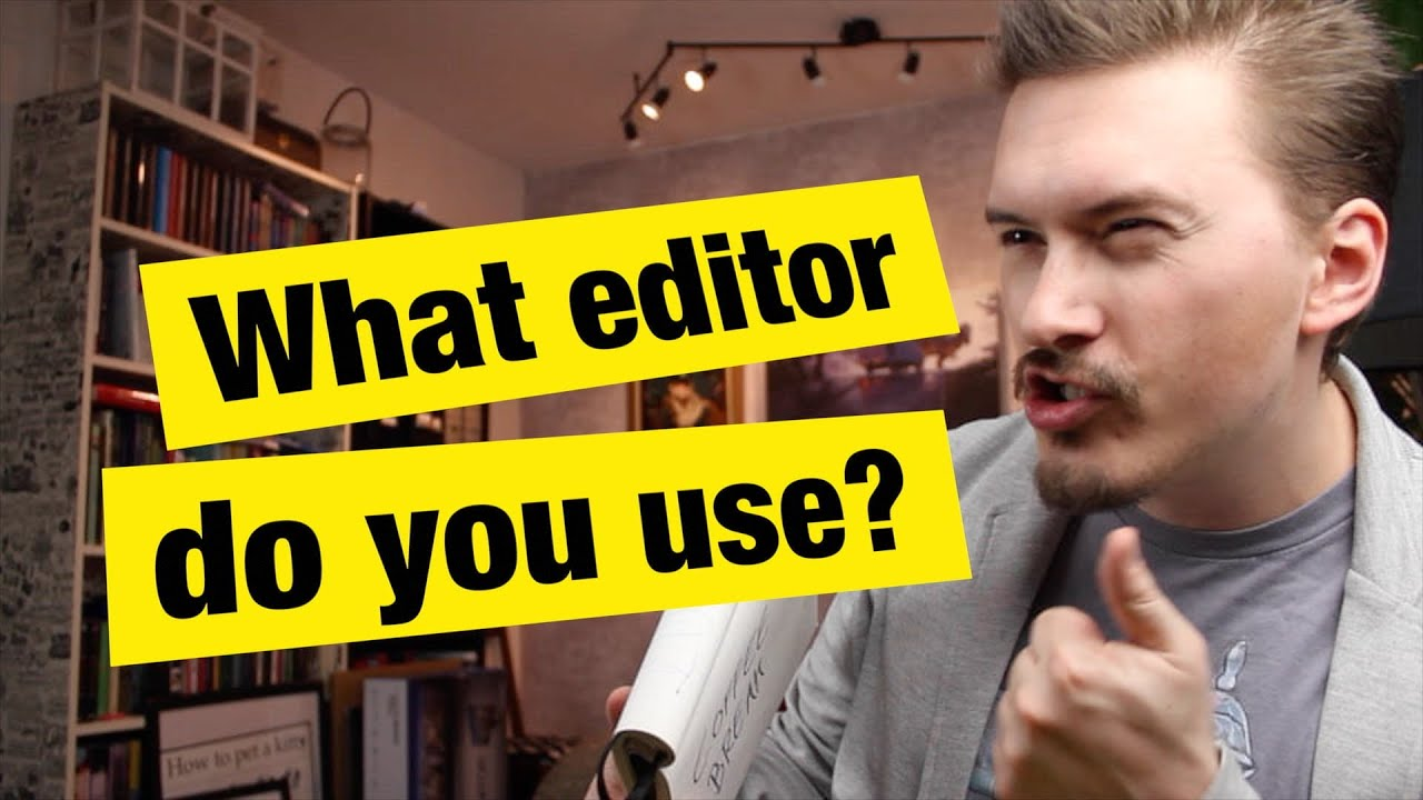 What editor do you use? - FunFunFunction #31