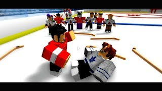 SAD ROBLOX HOCKEY STORY (THAT WILL MAKE YOU CRY)