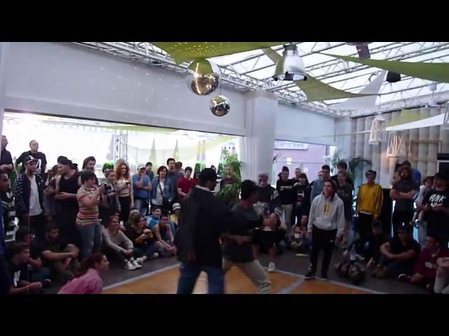 Ibra & Hamza vs Cap & Lil' Bee @ RoofBattle 3!