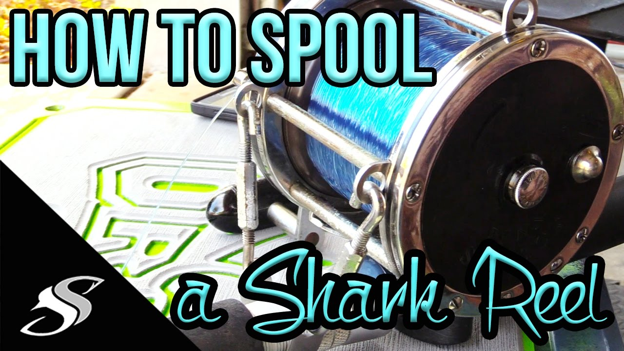 How to spool a conventional reel - How To Spool A Conventional Reel For Shark Fishing