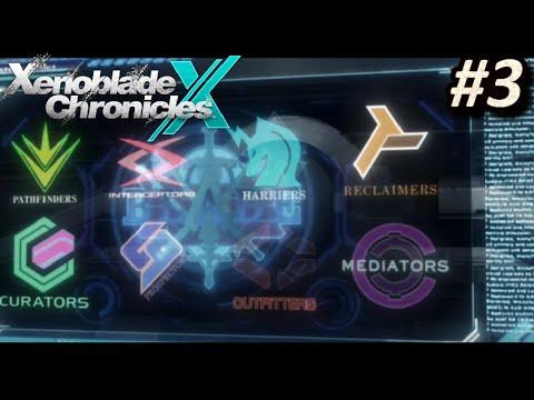 XENOBLADE CHRONICLES X (WiiU) - Episodio 3: Brigadas BLADE    Gameplay / Let´s Play en Español