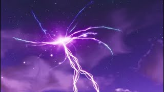 Le Cube à Fortnite. CRACK IN THE SKY DISAPPEARS AND LEAVES A PURPLE CUBE Fortnite Battle Royale