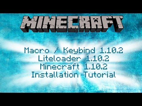 How To Install Macro / Keybind Mod 1.10.2 for Minecraft 1.10.2