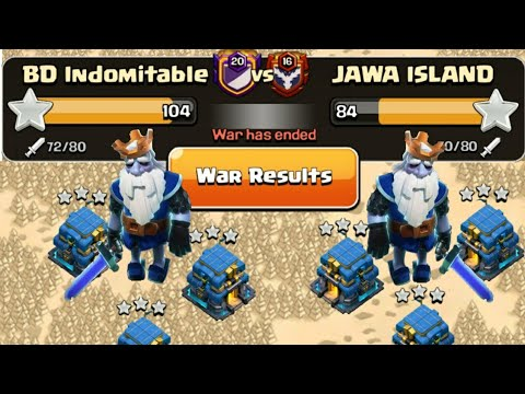 Best One BD Indomitable Are INSANE At Classic War | Great 40vs40 War Attacks In Clash Of Clans