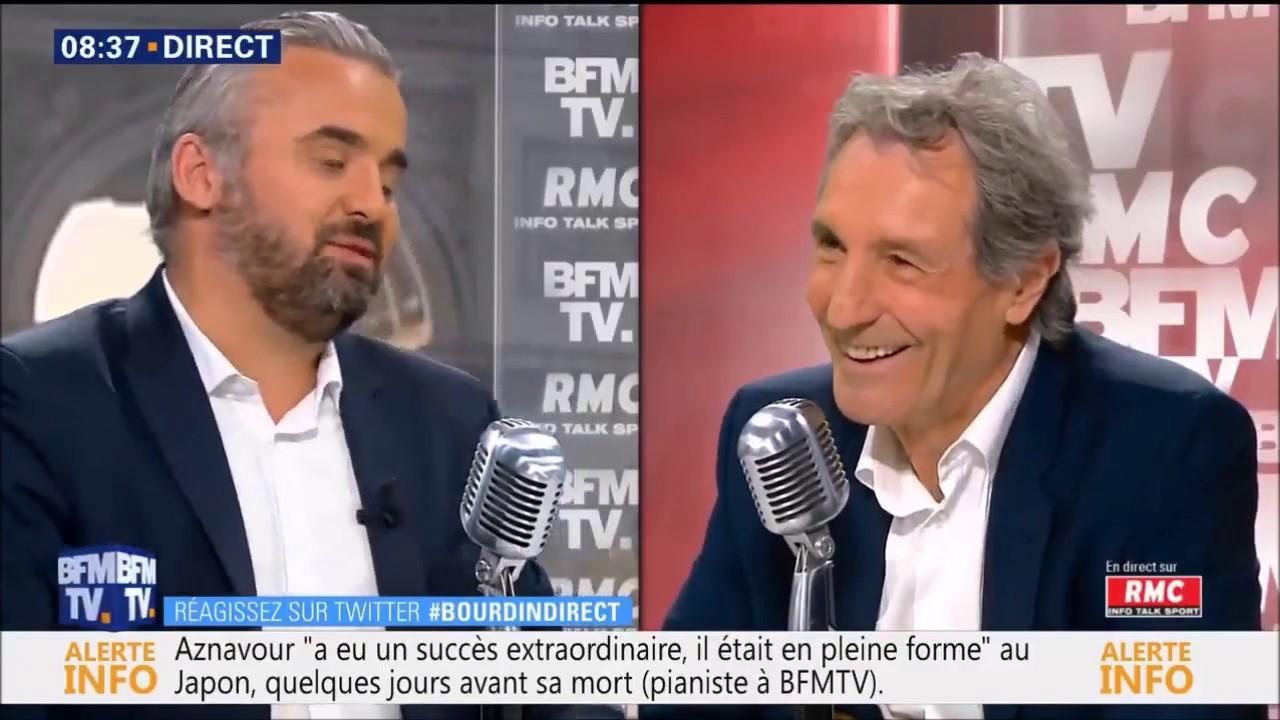 Alexis Corbière dans la Matinale BFMTV RMC de Jean-Jacques Bourdin