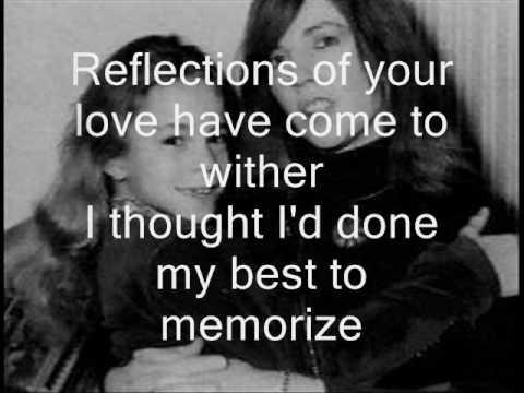Mariah Carey-Reflection's (Care Enough) with lyrics