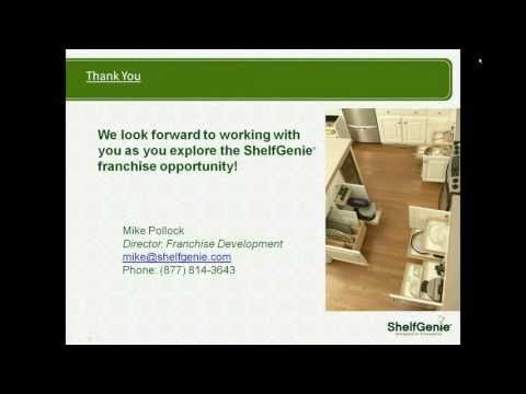 ShelfGenie Franchise Opportunity Webinar
