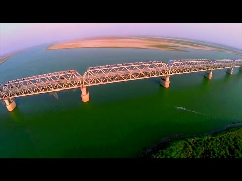 Megastructure!! Construction of 4.6 Kms mammoth Rail-Cum-Road Bridge over Ganga!! A Full Documentary