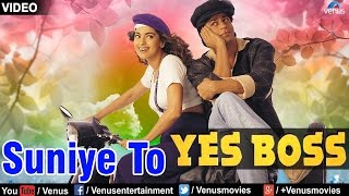 Suniye To VIDEO SONG Shah Rukh Khan Juhi Chawla Yes Boss 90s Superhit Bollywood Song