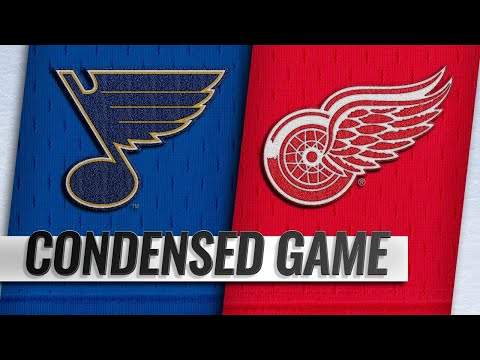 11/28/18 Condensed Game: Blues @ Red Wings