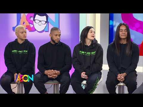 Janet Jackson's Dancers Teach Rhythm Nation Moves