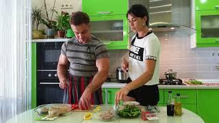 """Вкусные и полезные рецепты """"салат с тунцом"""" и запеченая Сёмга"""