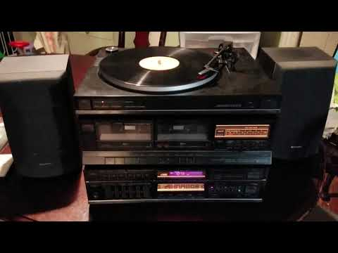 Fisher Stereo System Turntable