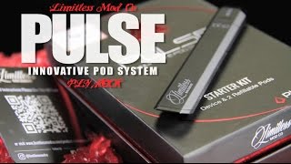 New PULSE Pod System by LIMITLESS MOD CO ~ALL IN ONE MTL SYSTEM~