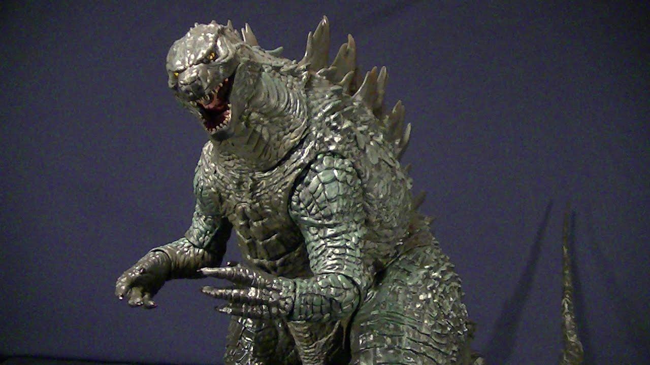 Neca Godzilla 2014 Movie 24 Inch Long Figure Review Youtube