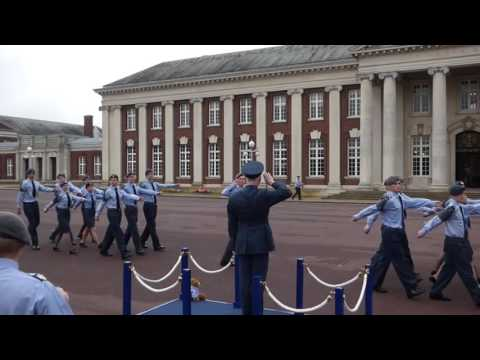 ACLC 2 Air Cadet Leadership Course 2016 at RAF College Cranwell March Past