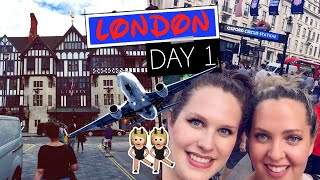 LONDON DAY 1: Flying + Sister Shopping on Oxford St! | Gillian At Home