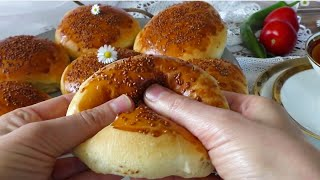 PAMUK  SÜNGER  ÇÖREK(hamur Yoğrulmuyor son derece kolay muhteşem  bir lezzet) ▪Masmavi3mutfakta▪
