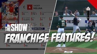 8 New Franchise Mode Features in MLB The Show 19