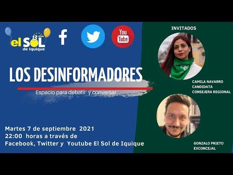 Los Desinformadores Camila Navarro- Gonzalo Prieto