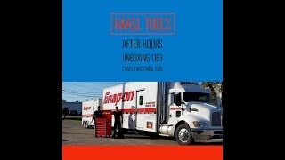 SNAP ON DEALER AFTER HOURS, CHADS TRUCK MINI TOUR, UNBOXING A KRL1163