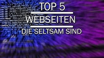 Top5 INTERESSANTE Webseiten