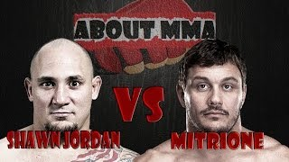 Matt Mitrione nocauteia Shawn Jordan no fim do primeiro round TUF China 1