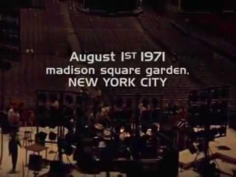 George Harrison Concert for Bangladesh(1971)